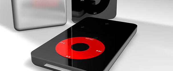 Δημιουργια του Apple iPod (Maxon Cinema 4D)