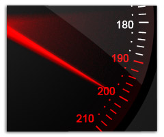car-speed-meter in Photoshop