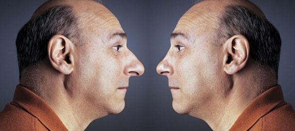 Διόρθωση μύτης στο Photoshop