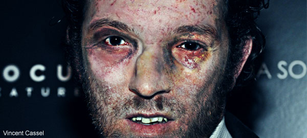 Vincent Cassel Zombie in Adobe Photoshop