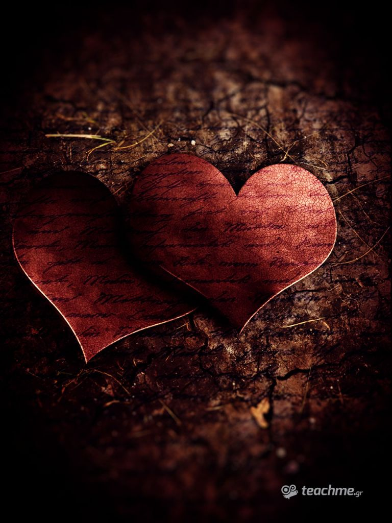 Rusty Love - Φώτο κολάζ στο Photoshop