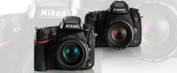 Κερδίστε μια Nikon D800 ή μια Canon 5D Mk III!