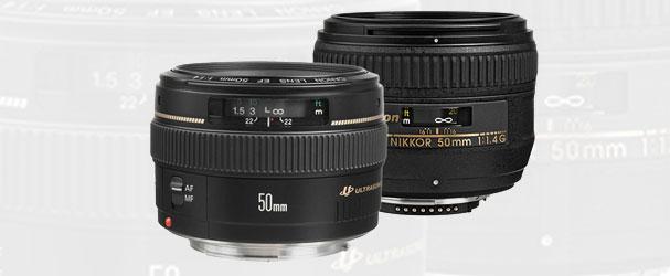 Κερδίστε έναν φακό 50mm f/1.4 για Canon ή Nikon!!!