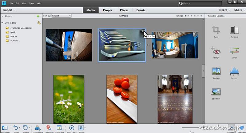 Ιδιαίτερα μαθήματα photoshop elements
