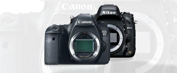 Σήμερα ΚΛΗΡΩΝΕΙ!!! Κερδίστε μία Nikon D600 ή μία Canon 6D!!!