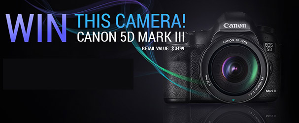 Καινούριος Διαγωνισμός με Έπαθλο μια Canon 5D mkIII !!!
