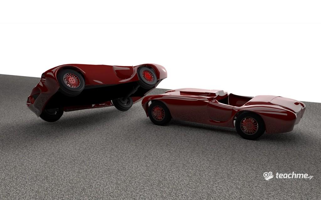 Χτίζοντας το σασί του αυτοκινήτου! Μάθημα Cinema 4D