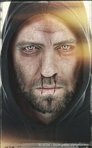 Scary Face Photo Manipulation στο Adobe Photoshop