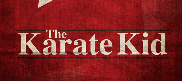 """Το Λογότυπο του """"The Karate Kid"""" στο Adobe Illustrator"""