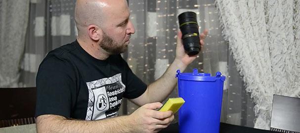 Καθαρισμός φακών - μάθημα φωτογραφίας