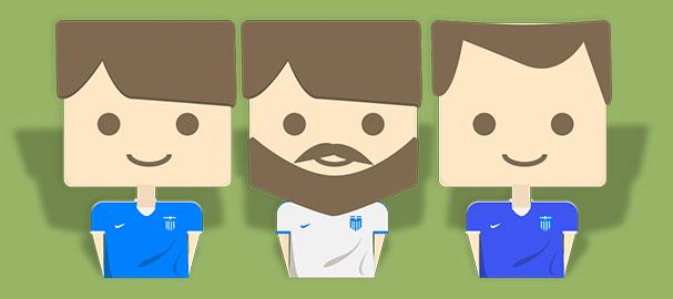 Ποδοσφαιρικοί χαρακτήρες. Μάθημα Photoshop