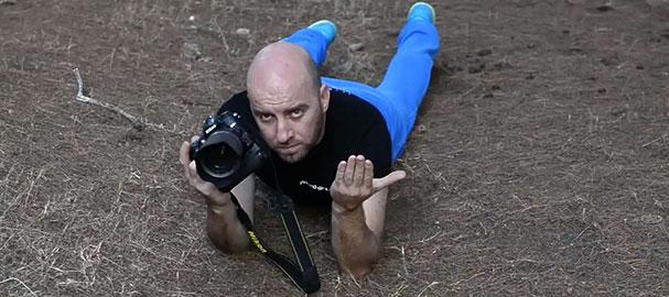 Σωστή θέση για φωτογράφιση | Μάθημα φωτογραφίας