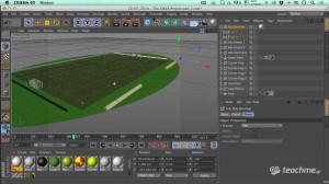 Χτίσιμο Ποδοσφαιρικού Γηπέδου (ΟΑΚΑ Project) - Μάθημα Cinema 4D