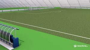 Ποδοσφαιρικό ΟΑΚΑ - Μάθημα Cinema 4D