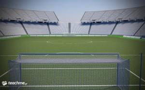 Χτίσιμο του Ποδοσφαιρικού ΟΑΚΑ - Μάθημα Cinema 4D