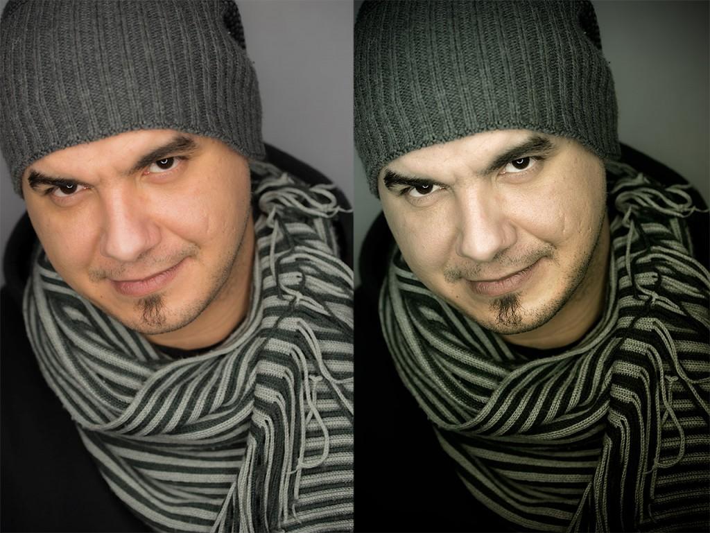 Δυναμική επεξεργασία πορτραίτου στο photoshop