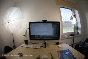 """""""Ξυρίζοντας"""" τον Nikkor Fisheye 10.5mm - Προβολή σε DX Crop Mode ON"""