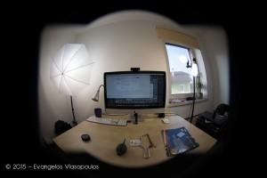"""""""Ξυρίζοντας"""" τον Nikkor Fisheye 10.5mm - Προβολή σε Full Frame"""