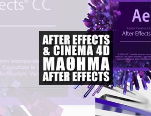 Συνεργασία After Effects & Cinema 4D Μέρος 8o