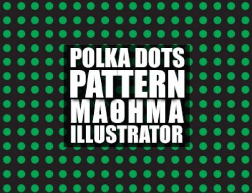 """Polka Dots Pattern"" στο Illustrator"