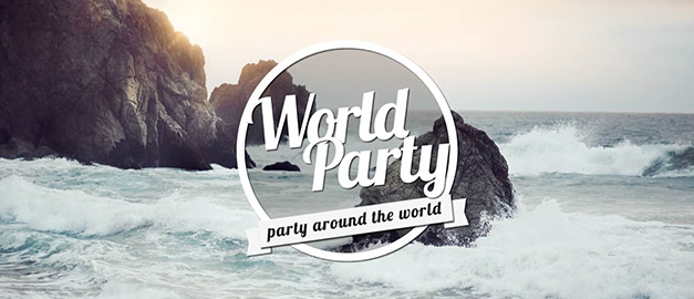 World Party Logo Animation