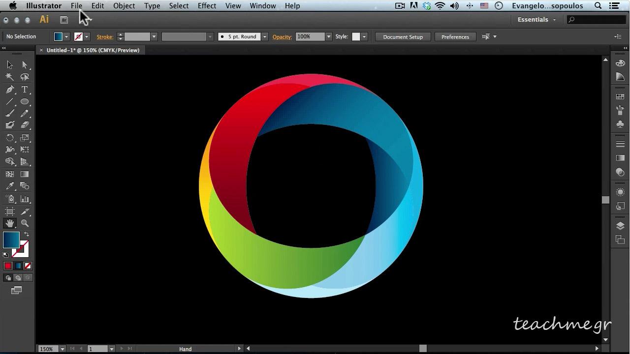Εντυπωσιακό   Πανεύκολο Λογότυπο στο Adobe Illustrator 866bd493c7c
