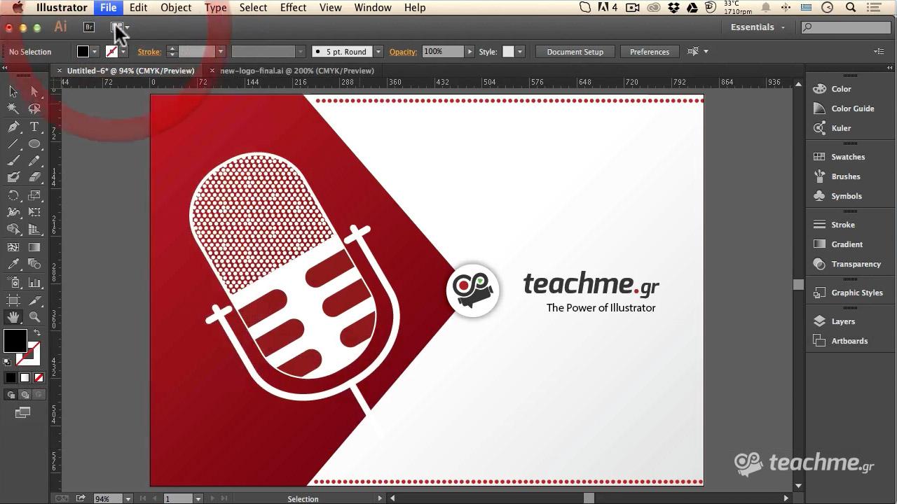 """Το Λογότυπο του """"The Voice"""" στο Adobe Illustrator badae31a33b"""