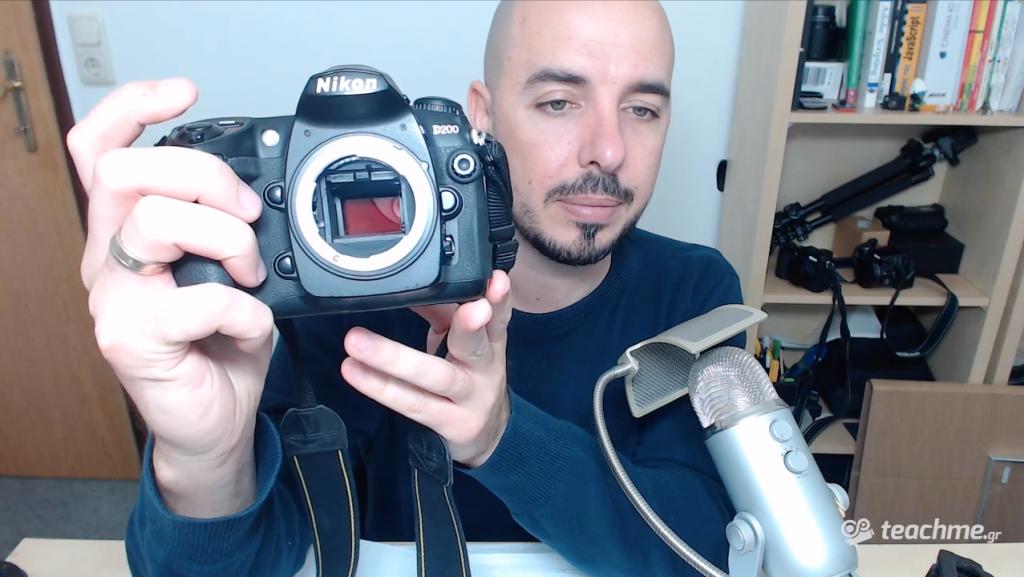 Πλέον η Nikon D200 είναι υπέρυθρη!!!
