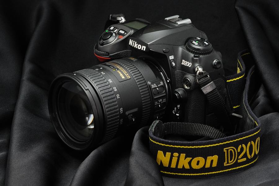Η θρυλική Nikon d200