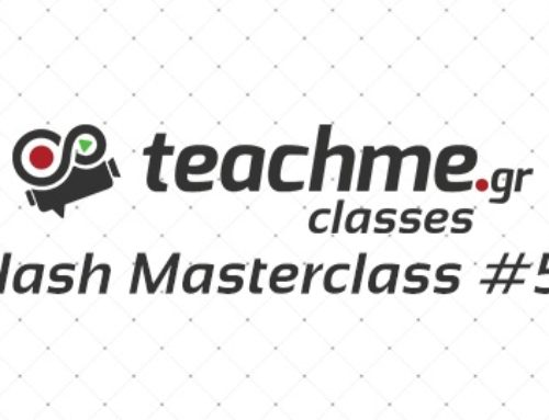 Flash Masterclass #5 – Καλλιτεχνικό Γυμνό