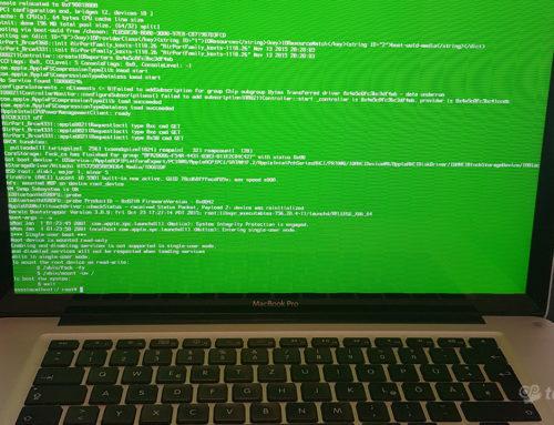 Ανασταίνοντας τον MacBook Pro 2011 '15